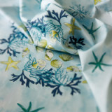 Corail Blue Table Linens