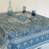 Avignon Blue Table Linens