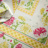 Jardins Yellow/Green Table Linens