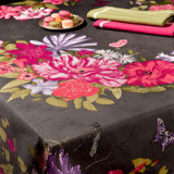 Palais Royal Gray Table Linens