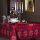 Toscane Red Table Linens