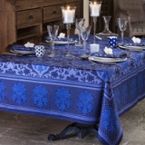 Toscane Blue Table Linens
