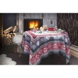 Gstaad Red Table Linens