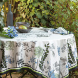 Agapanthes Cotton Table Linens
