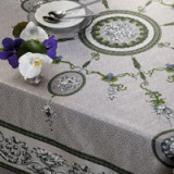Voltaire Gray Table Linens