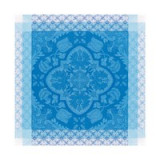 Azulejos Blue China Napkin Square 22 in