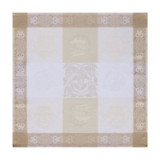 Darjeeling Coated Ivory Napkin Square 22 in