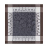 Palais Persan Charcoal Napkin Square 22 in