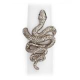 Snake Platinum Napkin Rings