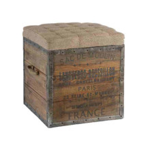 The Sac De Moulin Wooden Cube