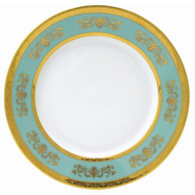 Formal Banded China Dinnerware | Gracious Style