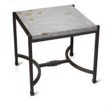 Fallen Leaves Square Side Table (Special Order)