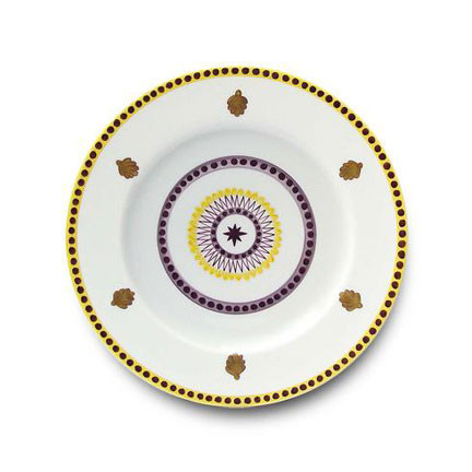 Agra Yellow Dinnerware | Gracious Style