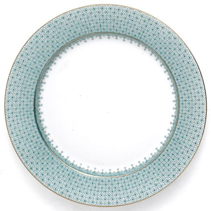 Green Lace Dinnerware | Gracious Style