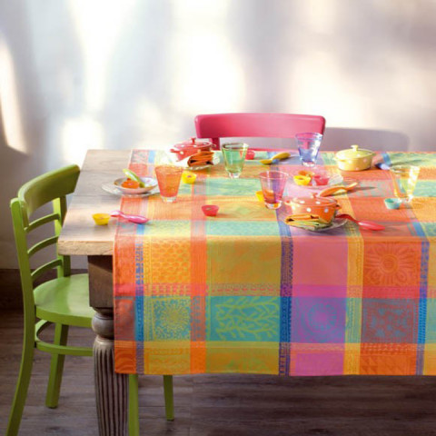 Mille Wax Creole Table Linens | Gracious Style