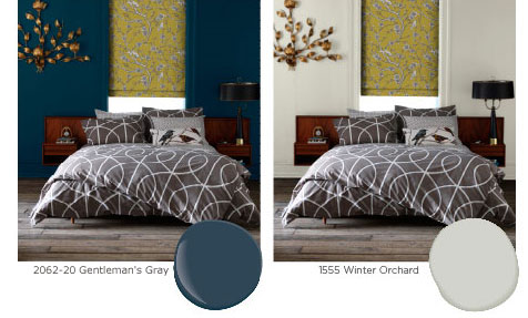 bedroom makeover dwell studio and benjamin moore. Black Bedroom Furniture Sets. Home Design Ideas