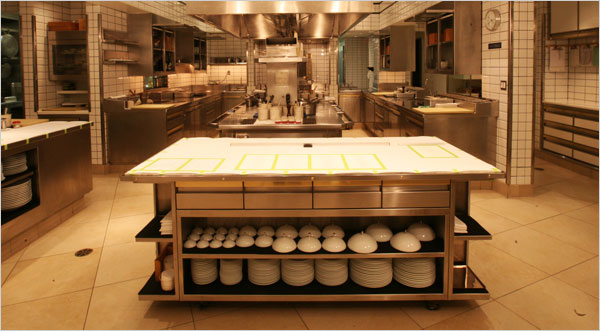 Kitchen at per se Restaurant in New York - image from