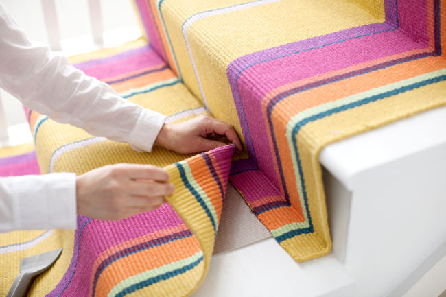 Superbe Do It Yourself: How To Install A Stair Runner